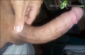 pene curvado
